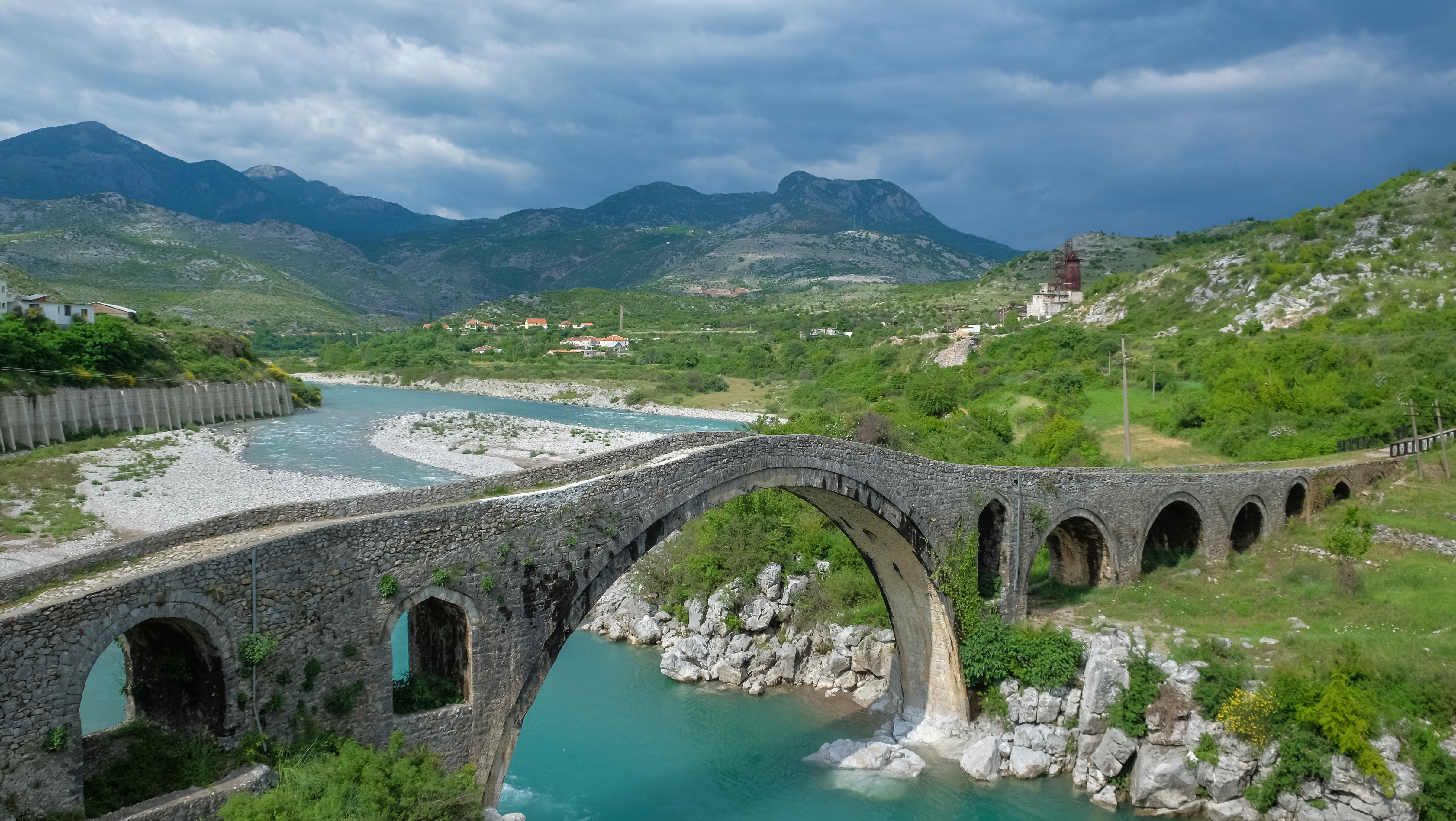 scenic photo of Albania