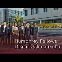 Humphrey Fellows Discuss Climate Change