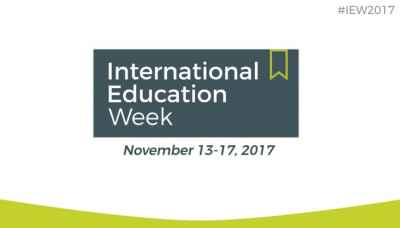 International Education Week 2017 ~ How you can participate!